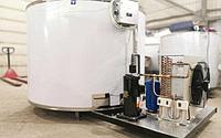 Резервуар охладитель молока нержавеющий вертикальный открытый 600 литров