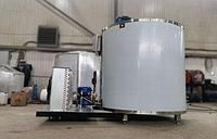 Охладитель молока вертикальный (шайба) открытого типа на 1000 литров
