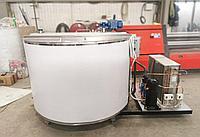 Танк для охлаждения молока вертикального типа открытый 1500 литров