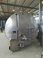 Стационарный термос молочный горизонтальный 20000 литров