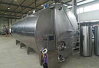 Вертикальный стационарный термос - емкость для молока на 20000 литров