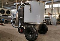 Вертикальное мобильное молочное такси для выпойки телят 80 литров