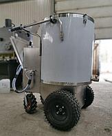 Молочное такси для размешивания, подогрева и раздачи корма телятам 150 литров