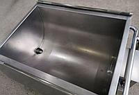 Стальная ванна для сквашивания творога 300 литров