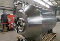 Бак брожения из нержавеющей стали, форфас для пива и кваса 6000 литров