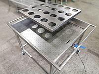 Мебель металлическая в ассортименте из пищевой нержавеющей стали в ассортименте