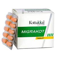 Мигракот - от мигреней и головной боли ,10таб Migrakot, Kottakkal Ayurveda