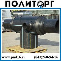 Тройники тянутые 630х160 SDR 17 ( SDR 11) ПЭ100