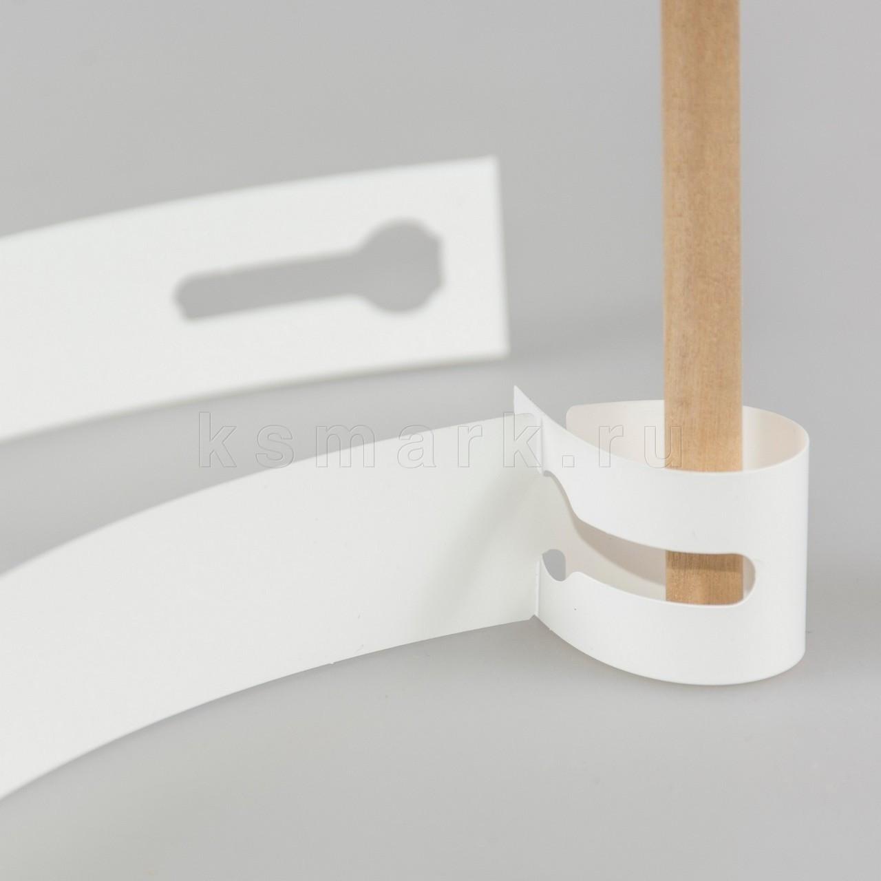 Бирки для крупномеров увеличенный размер петельки 57х298,44 мм 500 шт