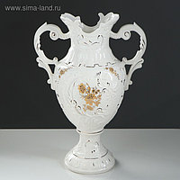 "Ваза напольная ""Астория"" белая, 54 см, керамика"