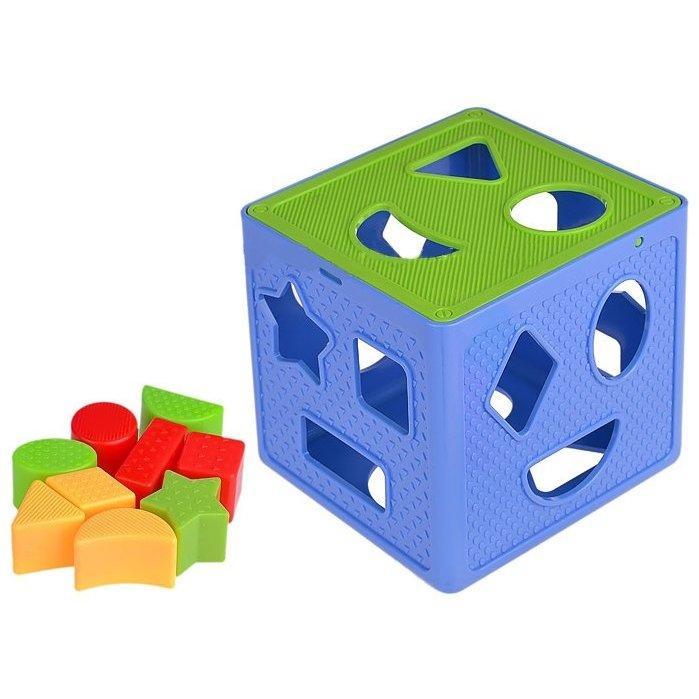 637 Кубик сортер Magical Form Cube 18*15см