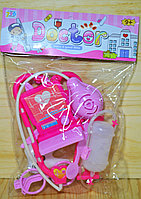 B7965-2 Набор доктора Doctor-Have a good time в пакете розовый 30*21см