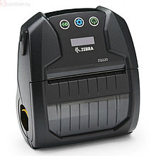 Zebra ZQ22-A0E01KE-00 Термопринтер этикеток мобильный ZQ220, 80 мм, 60 мм/с, 203 dpi, usb, bluetooth