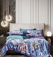 Комплект постельного белья двуспальный египетский хлопок с розами