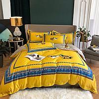 Комплект постельного белья двуспальный египетский хлопок HERMES