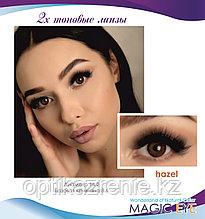 Magic eye hazel 2 (ореховый)
