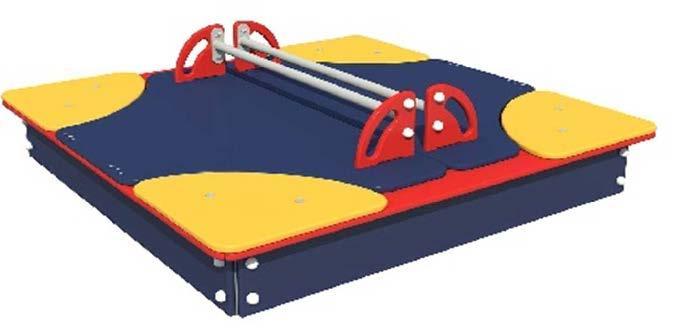 """Игровой модуль """"Песочница с крышкой"""""""