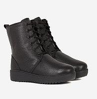 Ботинки натуральная кожа, черные