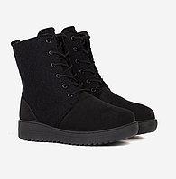Ботинки войлочные, черные