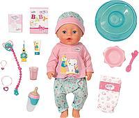 Кукла Интерактивная Чистим зубки Baby born 43 см.