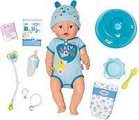Кукла-мальчик Интерактивная Baby born 43 см, фото 1