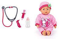 Интерактивная кукла-пупс Bayer Dolls 33см с докторским набором, фото 1