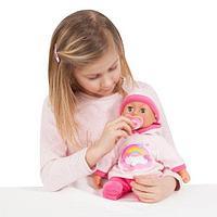 Пупс первые звуки малыша Bayer Dolls 38см с пустышкой и бутылочкой