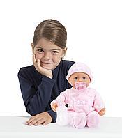 Пупс первые звуки малыша Bayer Dolls 38см, фото 1