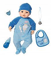 Кукла-мальчик многофункциональная Baby Annabell 43 см, фото 1