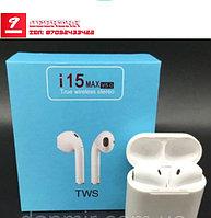Беспроводной Bluetooth 5.0 i15 Max TWS Наушники Мини Earbuds Сенсорный контроль наушники для всех телефонов