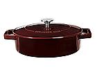 Чугунная кастрюля с крышкой Berlinger Haus Metallic Line Burgundy Edition 2.5 л, фото 3