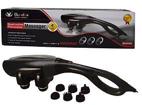Универсальный массажер для всего тела с 4 насадками с прогревом
