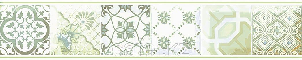 Кафель | Плитка настенная 20х30 Равенна | Ravenna зеленый бордюр
