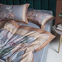 Комплект постельного белья двуспальный египетский хлопок цифровая печать