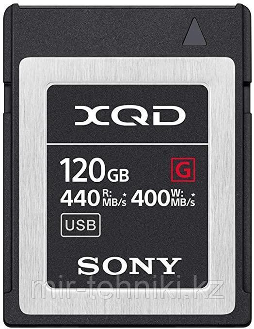 Карта памяти XQD Sony 120GB (QD-G64E) G Series Memory Card (R440/W400)