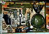 Детский набор оружия, каска, маска, автомат и т.д.