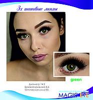 Magic eye Green 3 (зеленый)