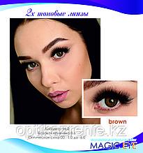 Magic eye Brown 2 (карий)