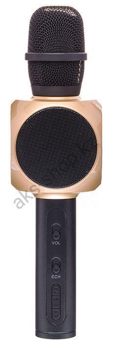 Караоке Микрофон беспроводной SU YOSD YS-82 (черно-золотой)