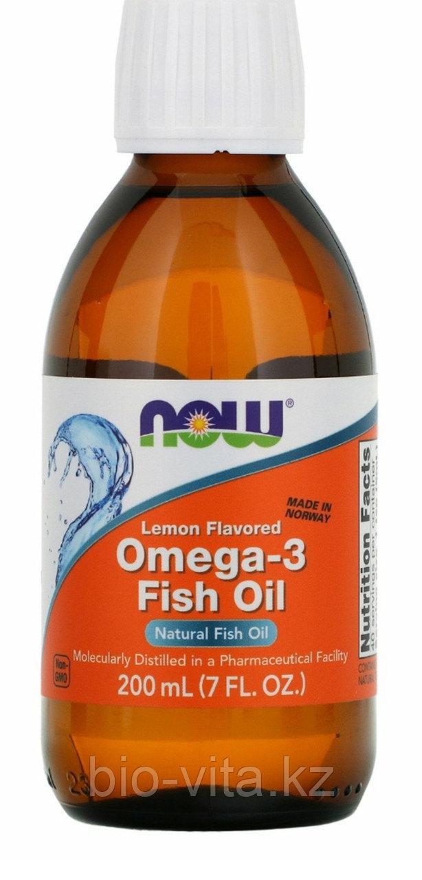 Омега ( Omega 3) Рыбий жир. Норвегия. С натуральным вкусом лимона.EPA 740/DHA 460 в 1 чайной ложке.
