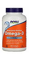 Омега 3 ( Omega) Рыбий жир. 1000 мг.в 1 капсуле. 180 мг. EPA/120 мг.DHA. 200 капсул.