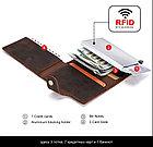 """Кожаный бокс для кредитных карт """"Contacts""""- кардхолдер. RFID Protected. Картхолдер, фото 6"""