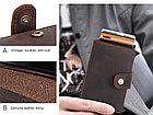 """Кожаный бокс для кредитных карт """"Contacts""""- кардхолдер. RFID Protected. Картхолдер, фото 9"""
