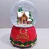 "Музыкальный снежный шар ""Merry Christmas"", 16см."