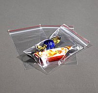 "Пакет ""Zip-Lock"" ПВД 6х8см, плотность 20-30 микрон (упаковке 100 штук)"