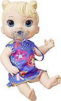 Беби Элайв кукла интерактивная Лил блондинка со звуками Baby Alive