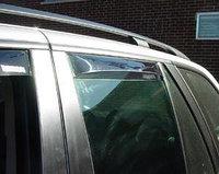 Ветровики дверей, вставные, Германия на BMW X5 E53