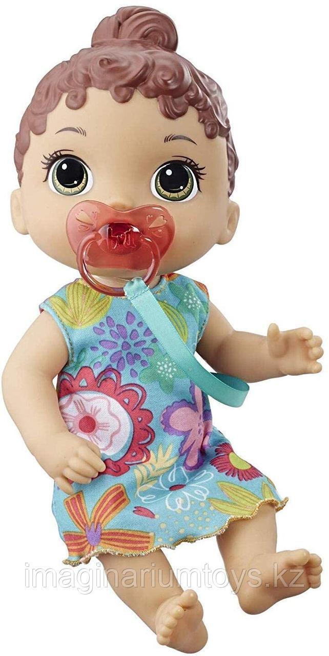 Беби Элайв кукла интерактивная Лил брюнетка со звуками Baby Alive