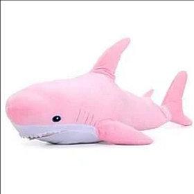 Плюшевая Розовая Акула Блохэй 100 см