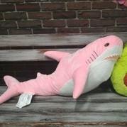Плюшевая Розовая Акула Блохэй 80 см